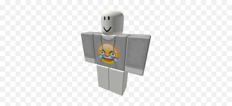 Open Eyes Crying Laughing Emoji Hoodie - Roblox Hello Kitty Shirt,Laughing Crying Emoji With Eyes Open