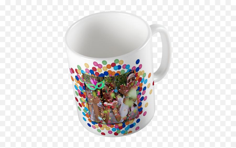 Taza Blanca Cerámica Motivo Carnaval Personalizada Con Tu Foto Texto O Imagen - Mug Emoji,Donkey Emoji Iphone