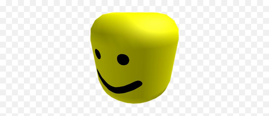 roblox noob face transparent background Download Free Png Oof Oof Roblox Noob Head Emoji Free Transparent Emoji Emojipng Com