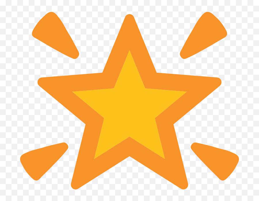 Clipart Stars Emoji Picture - Transparent Background Star Cartoon