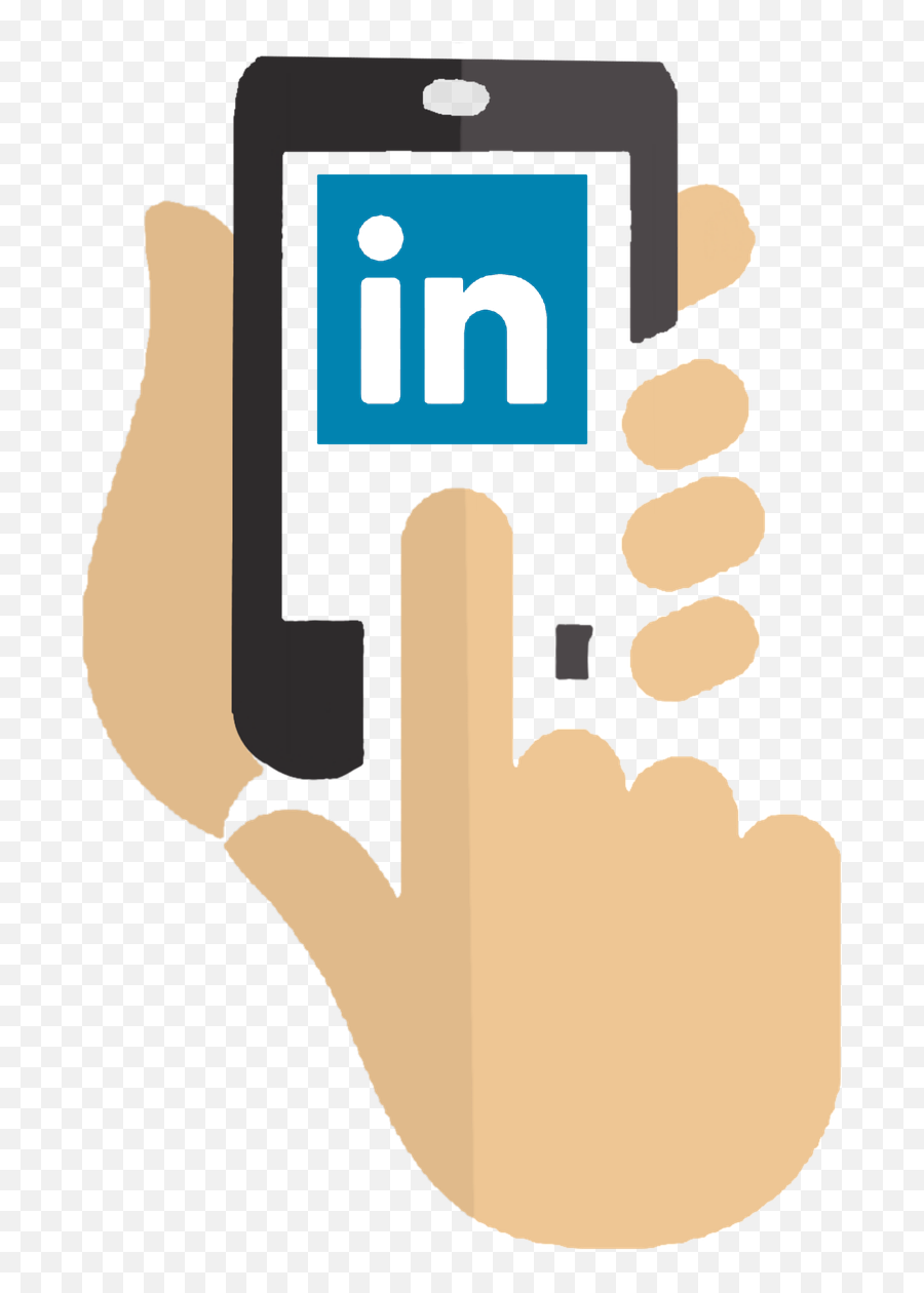 Applications App Touch Open Profile - Linkedin Emoji,Christmas Emoticons Iphone