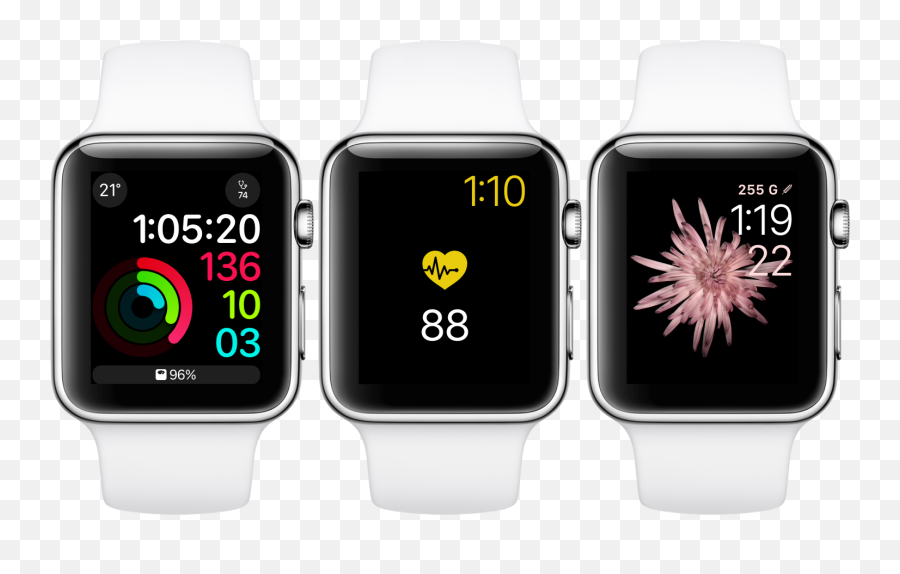 Have Any Health Information At A Glance With Healthface For - Set Silent Alarm On Apple Watch Emoji,Apple Gun Emoji