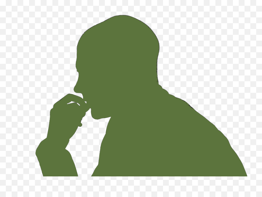Gif Png Download Free Clip Art - Man Thinking Emoji