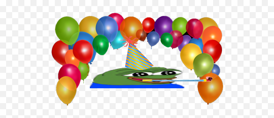 The Front Page Of The Internet - Transparent Background Birthday Balloons Png Emoji