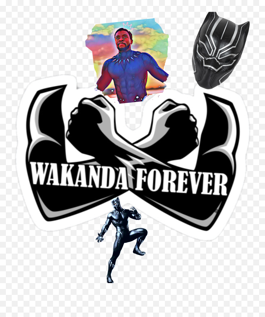 Wakanda Wakandaforever Blackpanther Blackpanthermovie - Wakanda Sticker Emoji