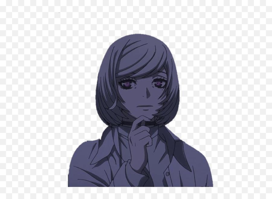 Anime Emoji - Discord Emoji Hair Design,Anime Face Emoji