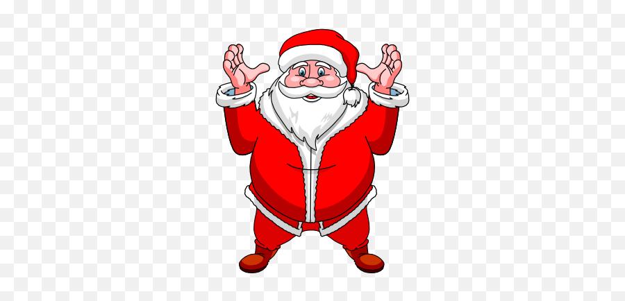 Xmas And New Year Stickers - Santa Claus Emoji,Christmas Emoticons Iphone