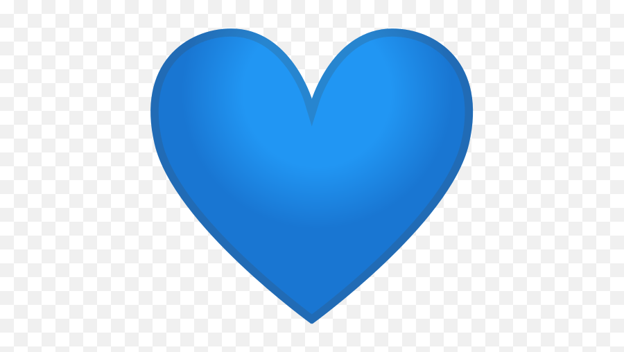 Blue Heart Emoji Meaning With Pictures - Blue Heart Icon Png