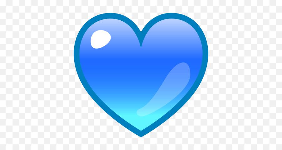 Blue Heart Emoji For Facebook Email Sms - Small Blue Heart Emoji