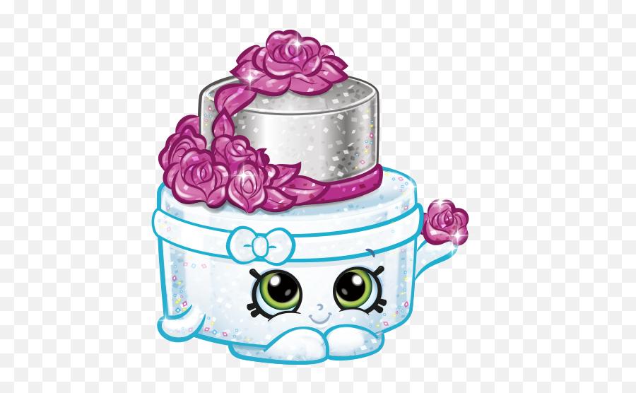 Shopkins Drawings - Shopkins Season 7 Wedding Cake Emoji