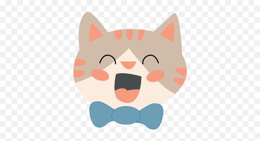 Cat Emoji Png Picture - Cat Yawns,Cat Emoji Png