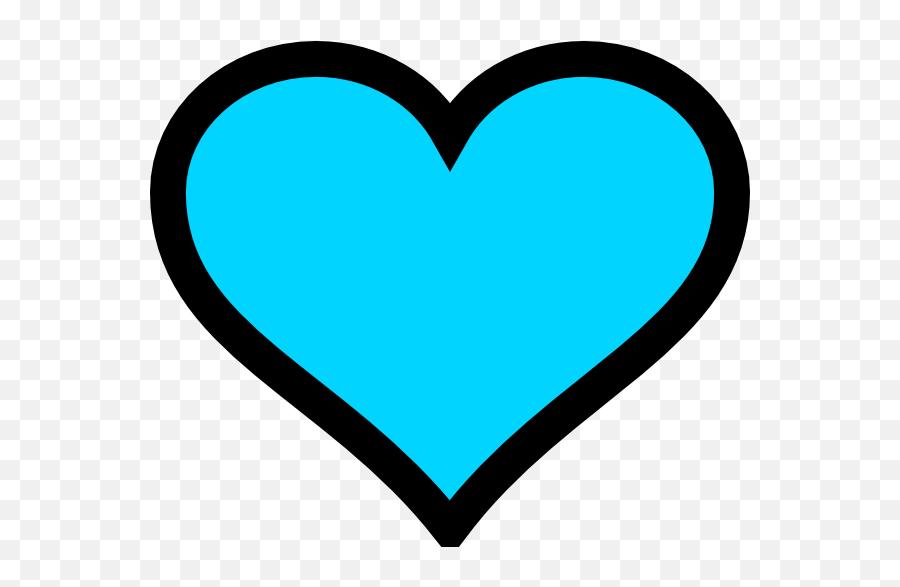 Turquoise Heart Emoji Blue Clip Art - Blue Heart Emoji