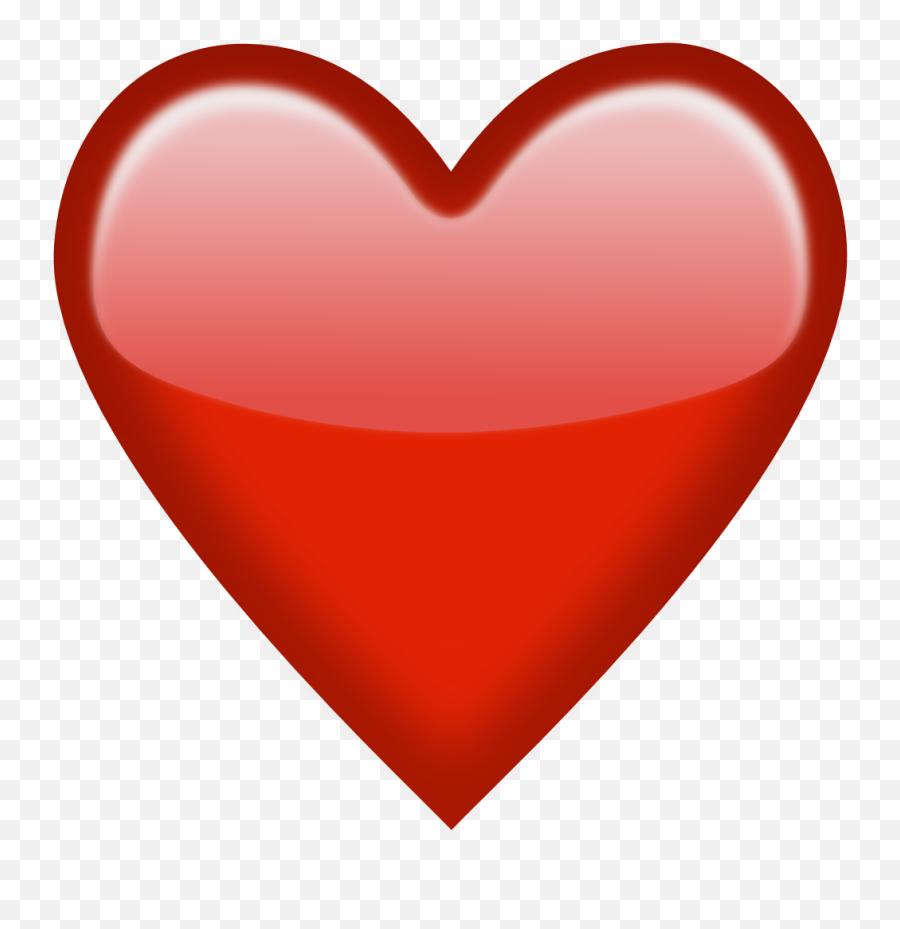 Heart Emoji Clipart - Red Heart Emoji Png,Sparkling Heart Emoji