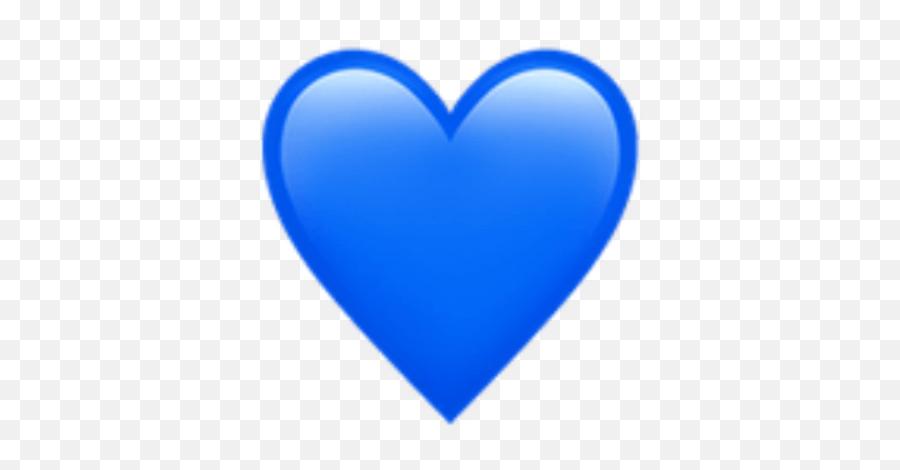Blue Heart Logo - Apple Blue Heart Emoji