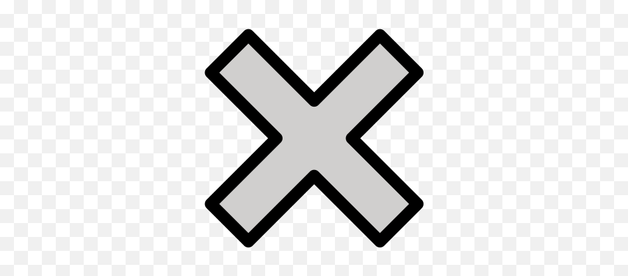 X Meaning Emoji - Something Went Wrong Icon,X Rated Emoticons For Iphone