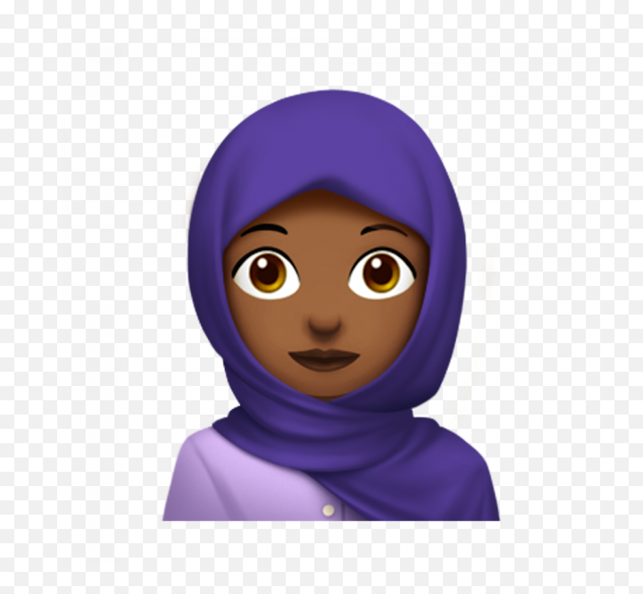 New Emoji Hijab - Hijab Emoji Transparent,Memoji